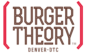 burger theory denver restaurant logo