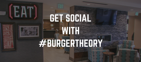burger theory denver restaurant social media